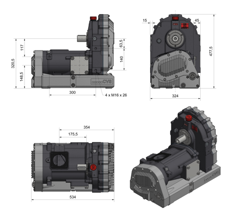 SKL 1200 dimensions